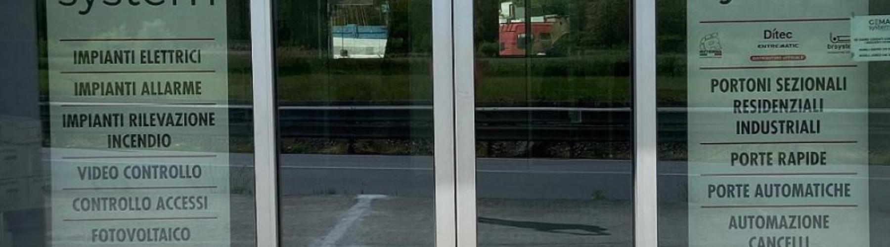 Nuova porta automatica scorrevole DAS200: Immagine Header